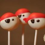 Three Pirate Cake Pops