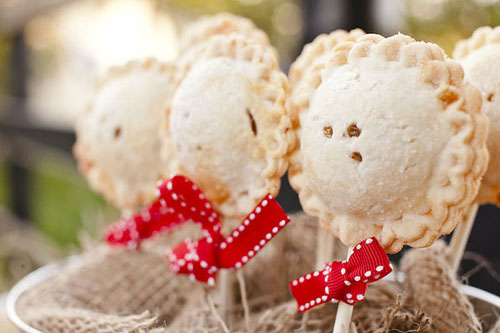 Rustic Pie Pops