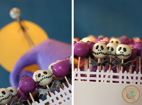 Nightmare Before Christmas Cake Pops
