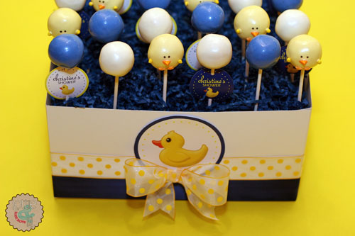 Rubber Duck Cake Pops