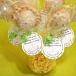Baby Shower Pie Pop Takeaways