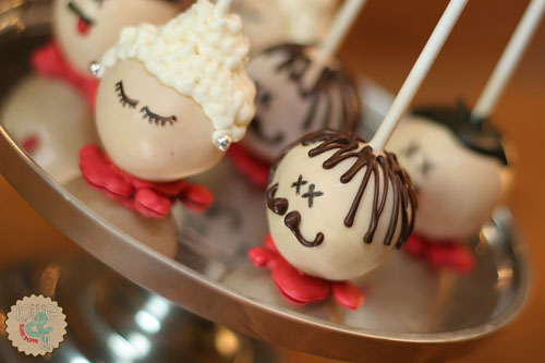 Severed Head Cake Pops