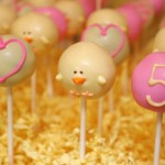 Duck Birthday Cake Pops