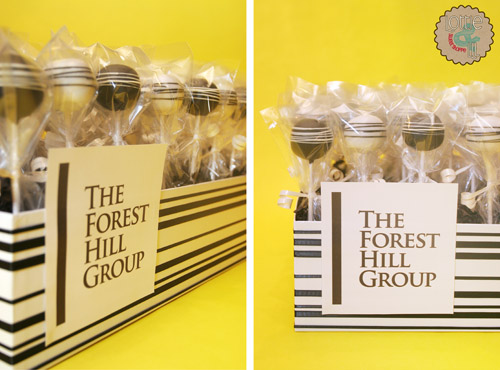 Forest Hill Group Corporate Event Cake Pops
