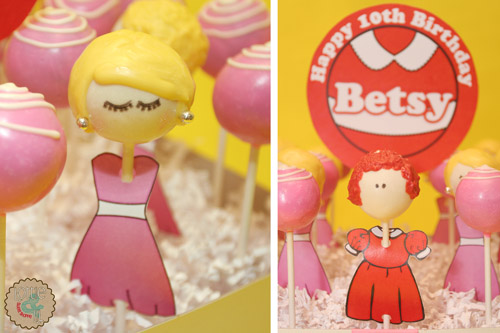 Annie and Barbie Cake Pops