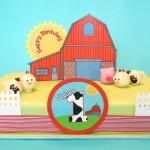 Barn Yard Birthday Cake Pops