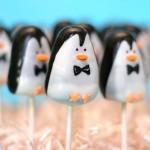 Mary Poppins Penguin Cake Pops