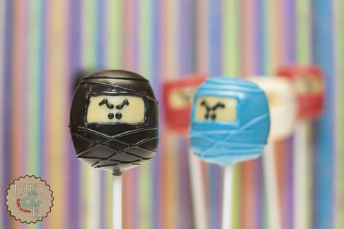Ninjago Cake Pops