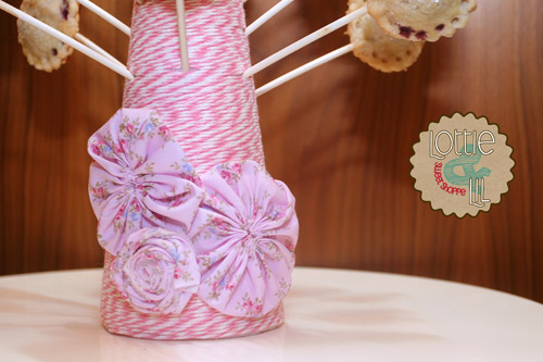 Pink Baby Shower Pie Pops