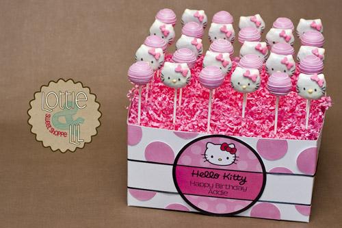 cake pops китти