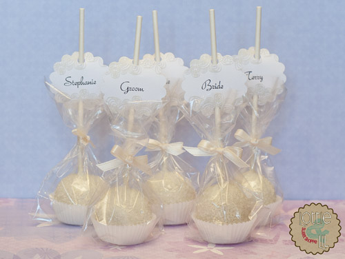 Emejing Cake Pops Wedding Favors Gallery - Styles & Ideas 2018 ...
