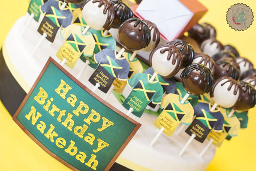 Jamaican Teacher Cake Pops