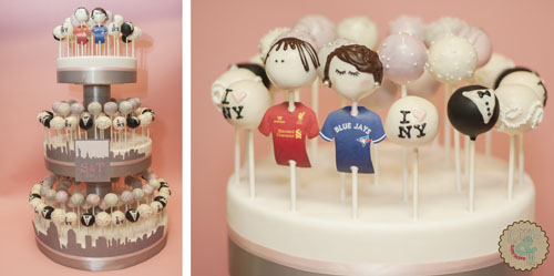 New York Wedding Cake Pops