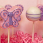 Pink and Purple Butterfly Cake Pops