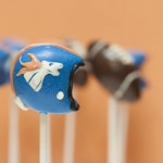 Denver Broncos Football Cake Pops