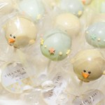 Baby Shower Rattle and Chick Cake Pops