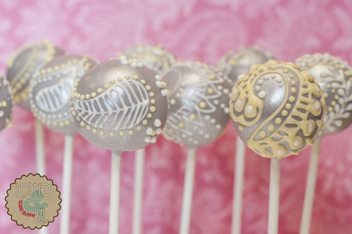 Lottie And Lil Blog Henna Cake Pops