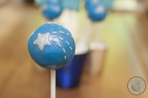 Star Themed Cake Pops